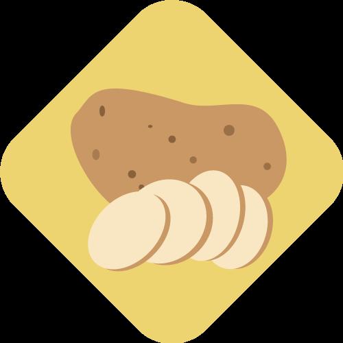 Eetbaar Friesland Aardappel